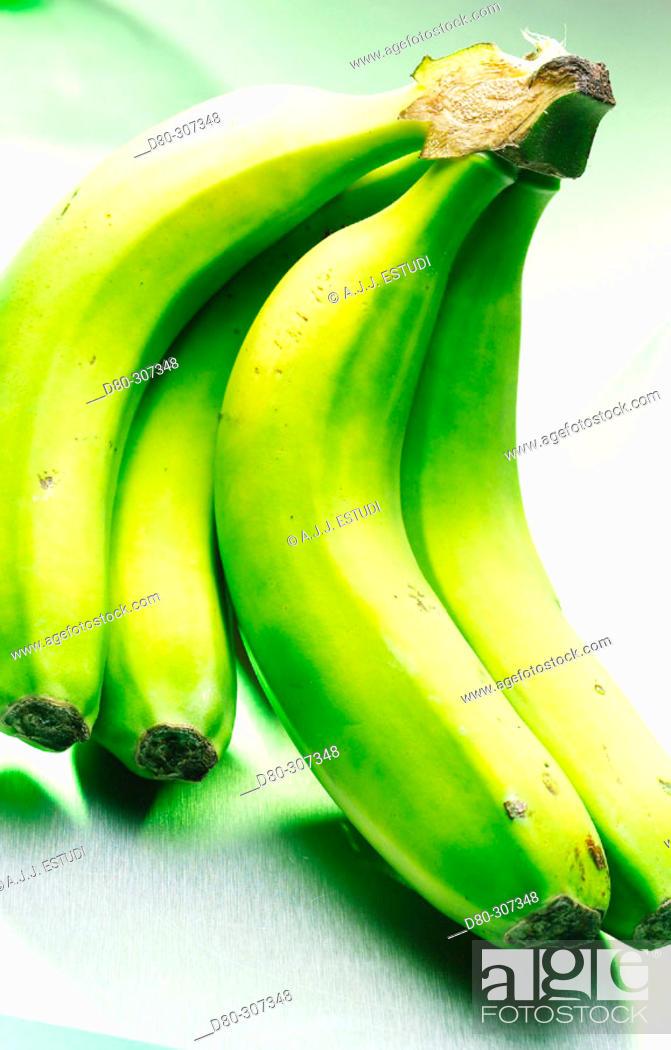 Stock Photo: Bananas.