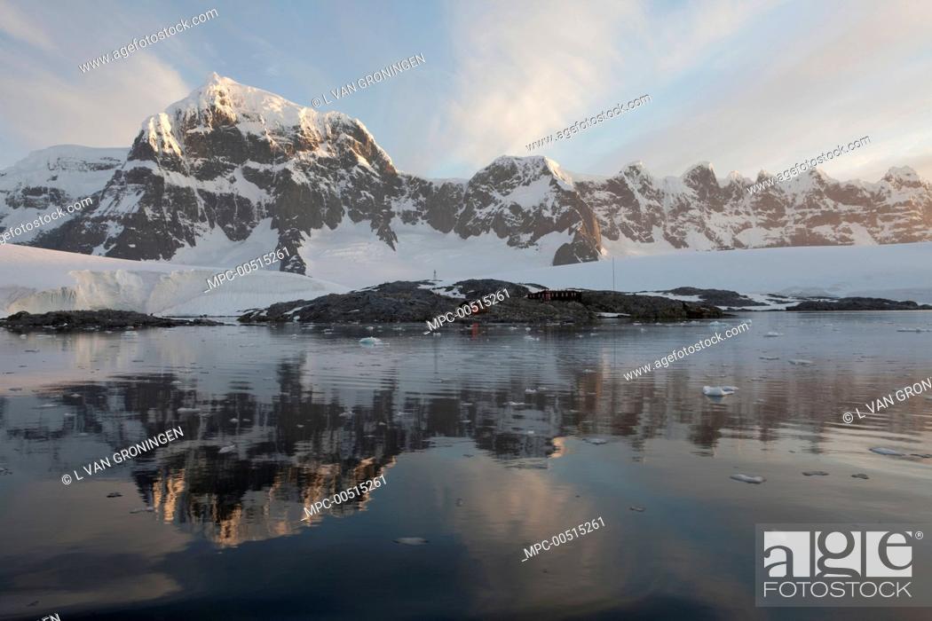 Stock Photo: Port Lockroy, Jougla Point, Antarctica.