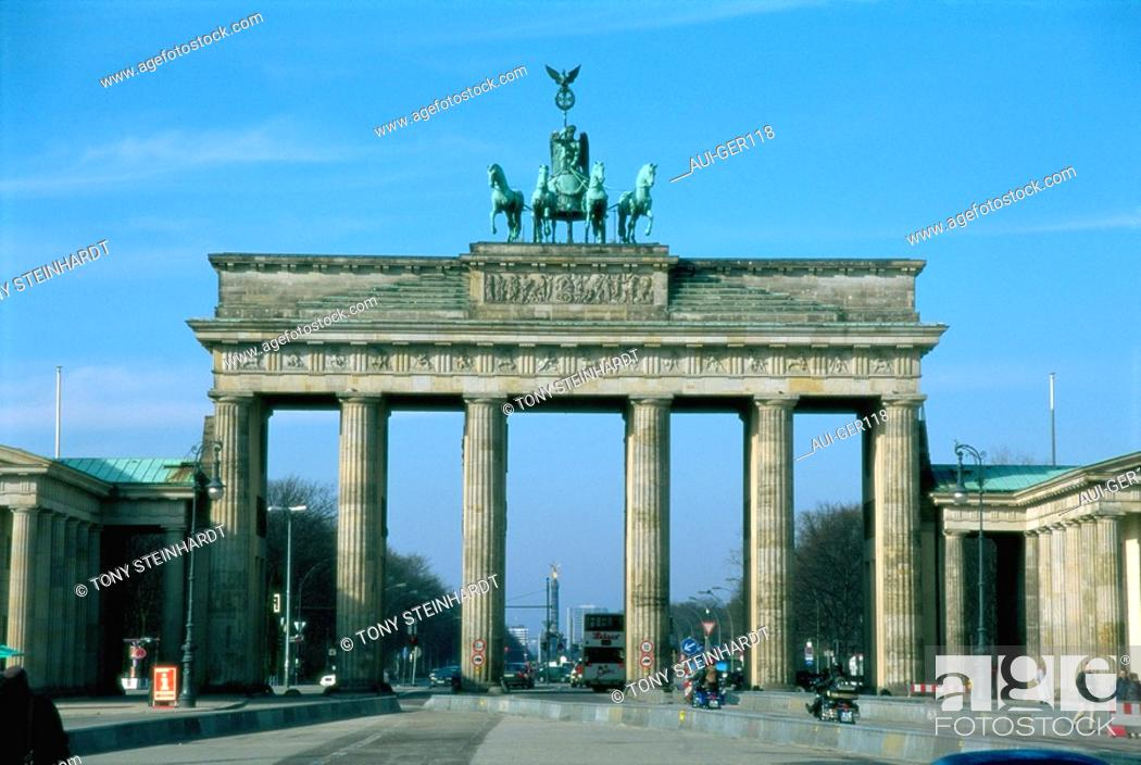 Stock Photo: Germany - Berlin - Brandenburg Gate.