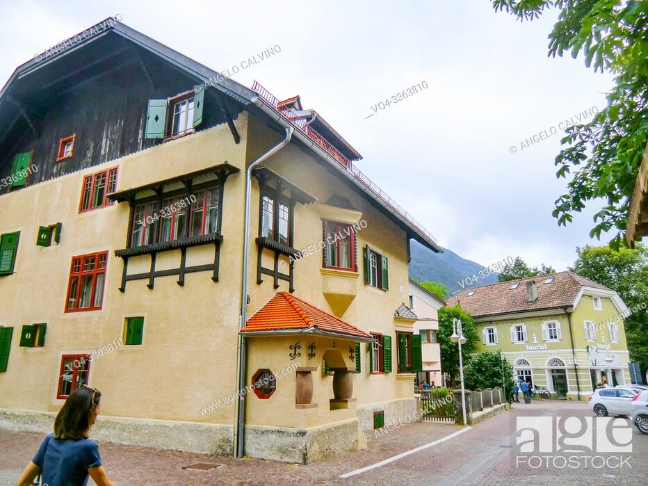 Stock Photo: Campo Tures, Sand in Taufers, Taufer Ahrntal, Valle Aurina, South Tyrol, Alto Adige, Italy, Europe.