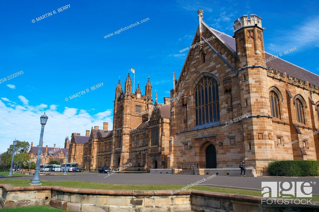 Stock Photo: University of Sydney Campus, Sydney.