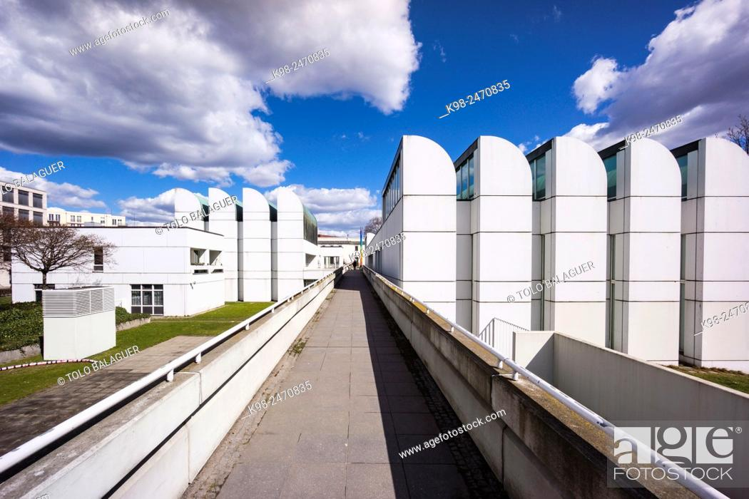 Stock Photo: Museo Archivo Bauhaus, 1979, Berlin, Germany.
