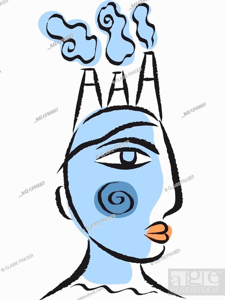 Stock Photo: Illustration of an entrepreneur.