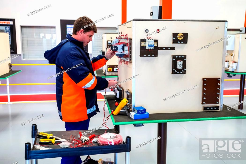 Stock Photo: Johannesburg, South Africa - June 28 2011: Vocational Skills Training Centre in Africa.