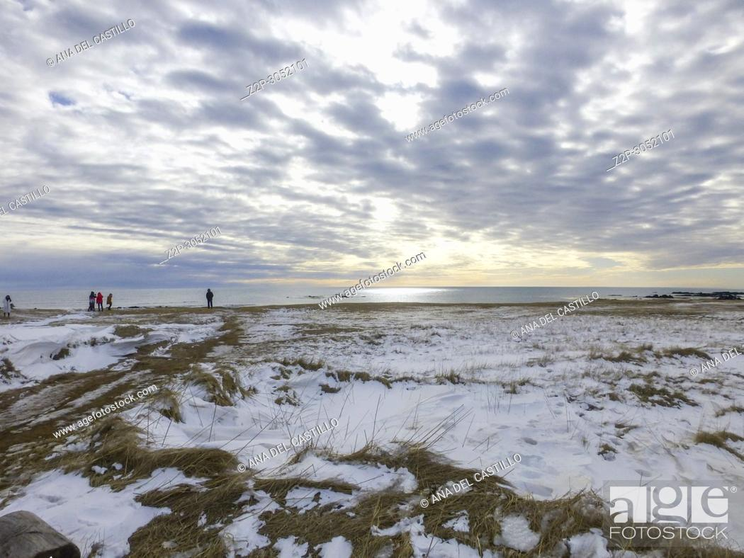 Stock Photo: Ytri tunga seal reserve in Iceland Snaefellsnes peninsule.