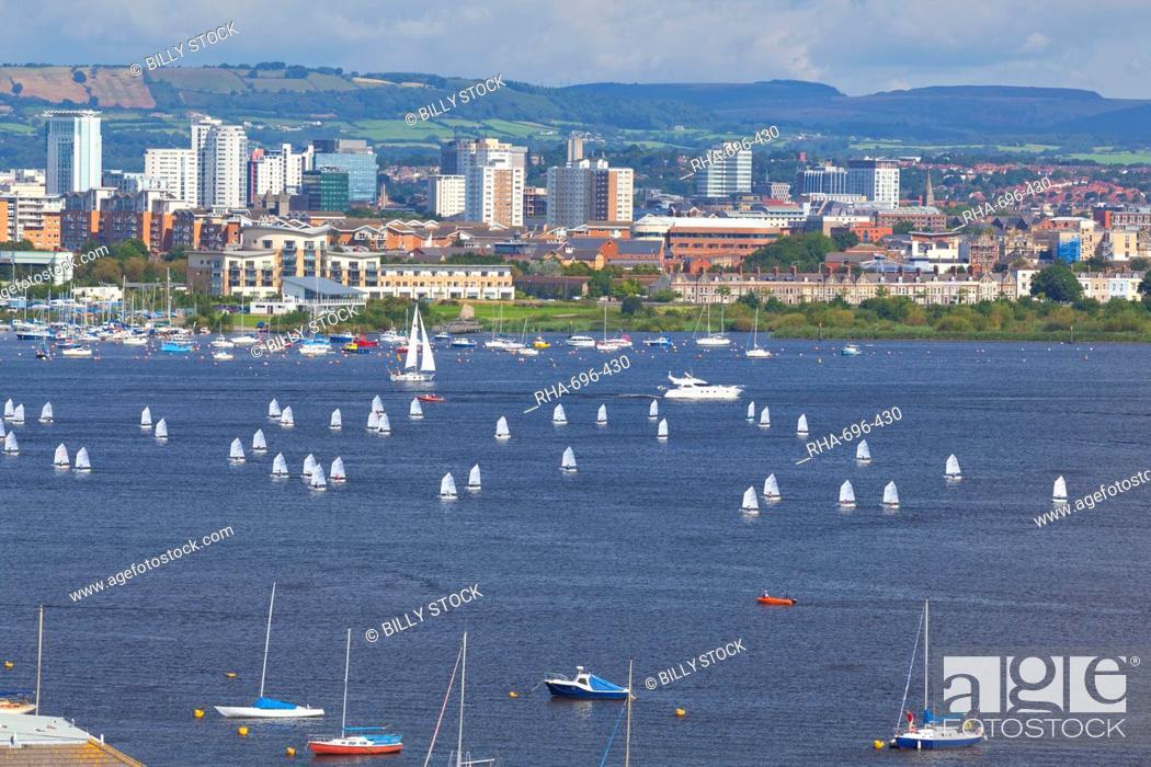 Stock Photo: Cardiff Bay, Wales, United Kingdom, Europe.