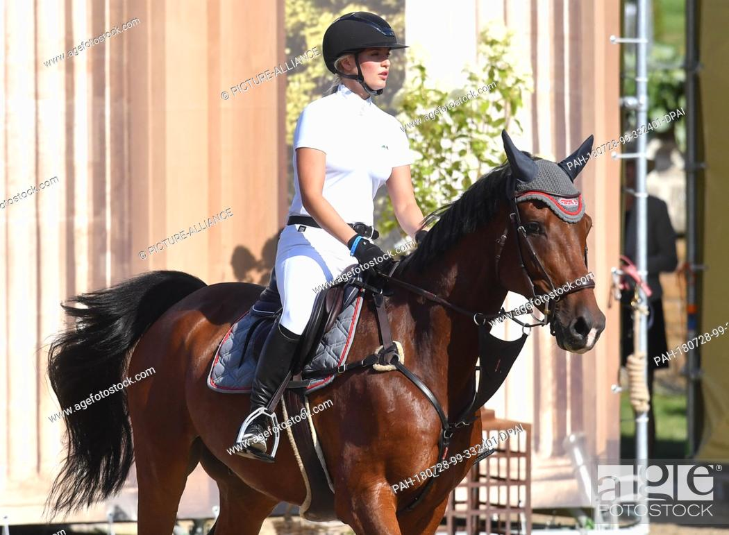 28 July 2018 Germany Berlin Equestrian Sports Jumping