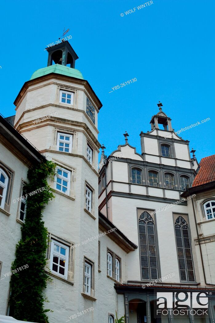 Stock Photo: Gifhorn Palace, Gifhorn, Lower Saxony, Germany.