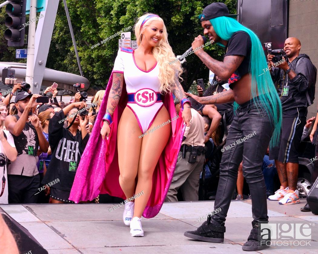 d44b6ff8378 Stock Photo - Amber Rose attends the 3rd Annual Amber Rose SlutWalk in Los  Angeles