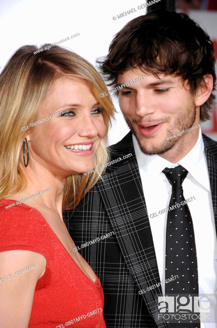 Cameron Diaz Ashton Kutcher At Arrivals For Premiere Of What Happens In Vegas Stock Photo Picture And Rights Managed Image Pic Cel 0801myd Gm071 Agefotostock