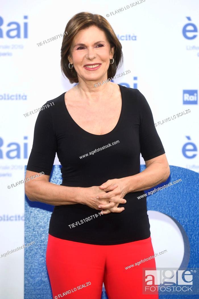 Stock Photo: Bianca Berlinguer during the Rai programming launch in Milan, ITALY-09-07-2019.