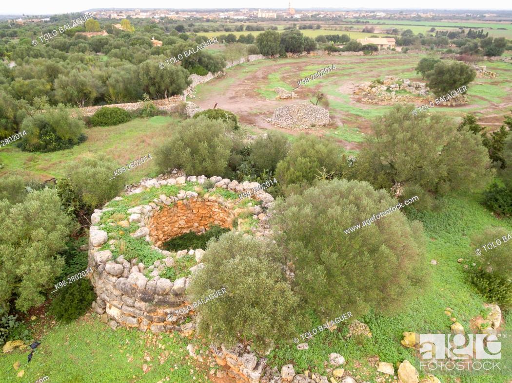 sa talaia joana village of talayotico ets antigors ses salines