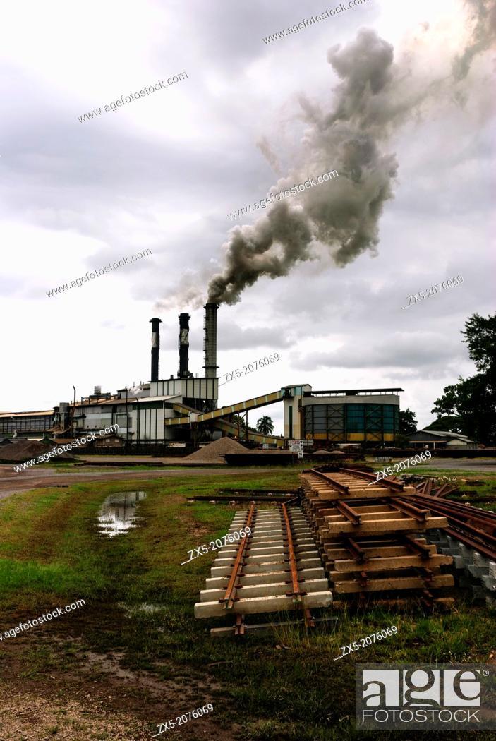 Stock Photo: Victoria sugar mill, Ingham - Queensland.
