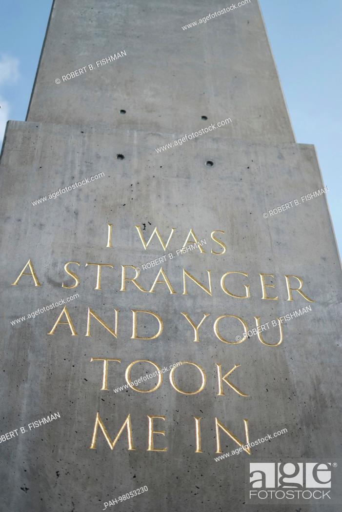 documenta 14 landmark Obelisk by Nigerian artist Olu Oguibe quoting