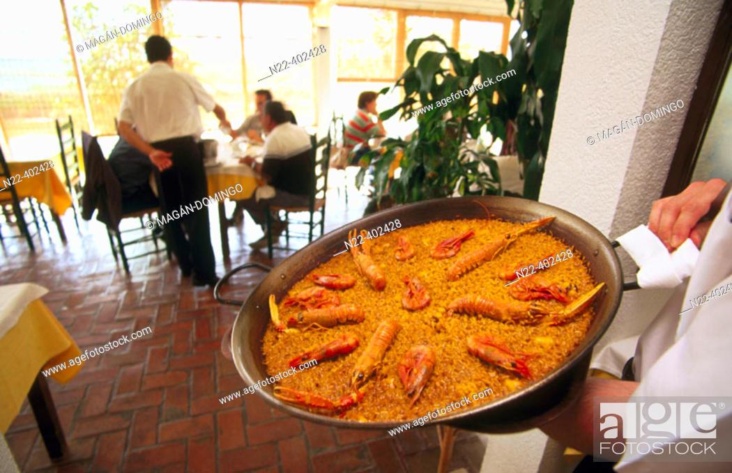 Stock Photo: 'Paella'. Valencia, Spain.