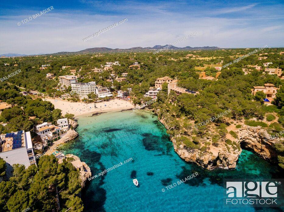 Stock Photo: cala Santanyí, Santanyí, Mallorca, balearic islands, spain, europe.