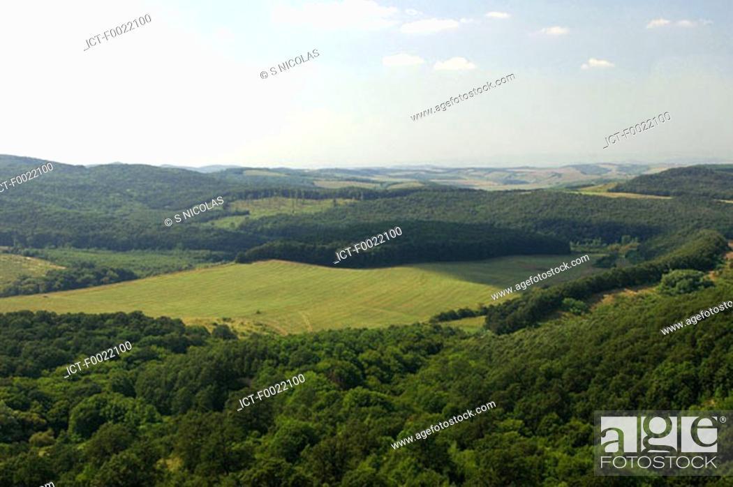 Stock Photo: Hungary, near Hollok÷.