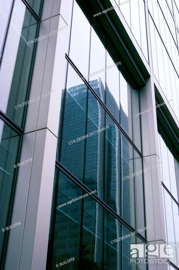 Imagen: Detail of building architecture, UK.