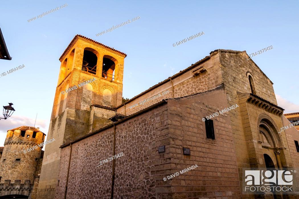 Imagen: Iglesia de San Sebastián. Segovia. Castilla León. España. Ciudad patrimonio de la humanidad. Unesco.