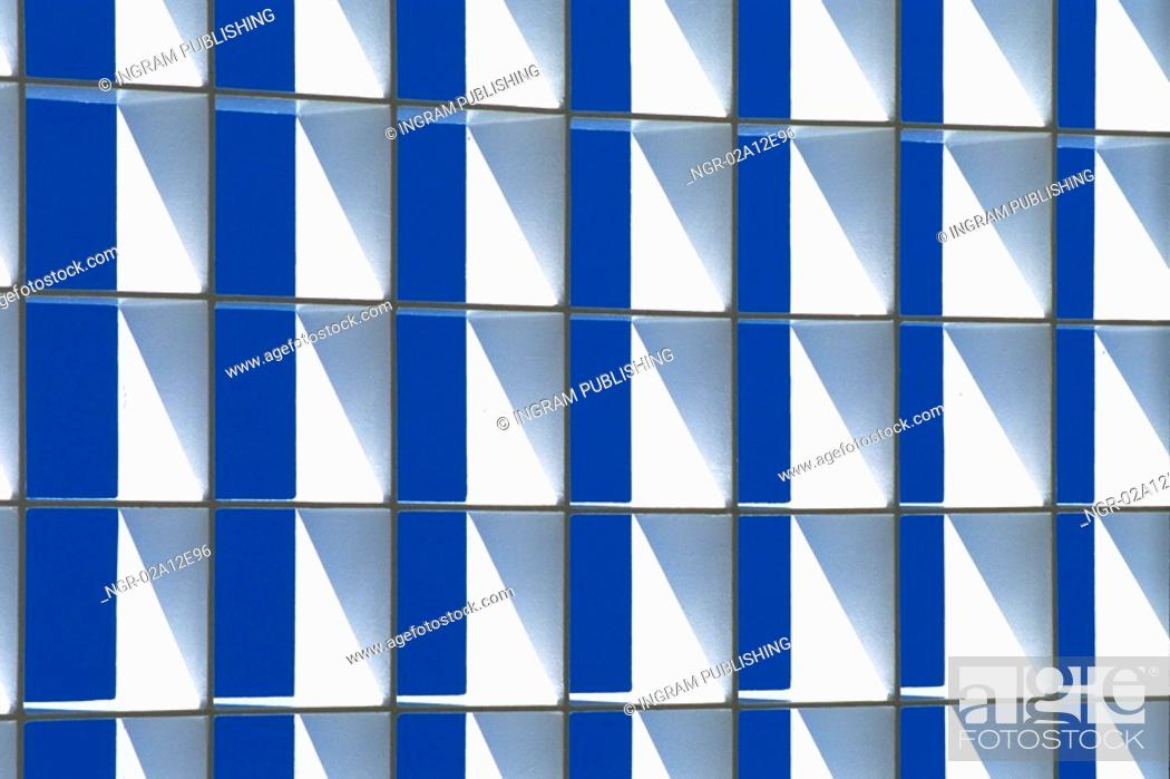 Stock Photo: Close-up of a pattern on a wall.