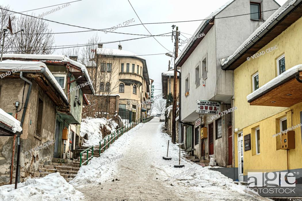 Stock Photo: Alfakovac under the snow.