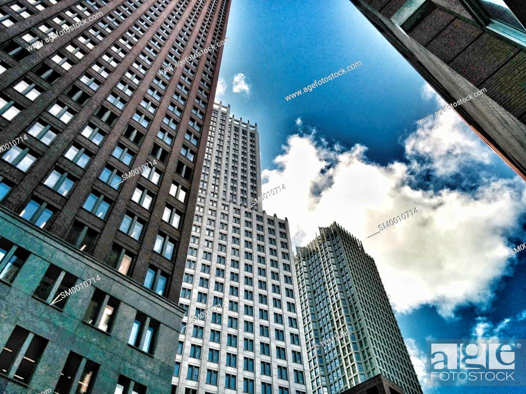 Stock Photo: High rises II.