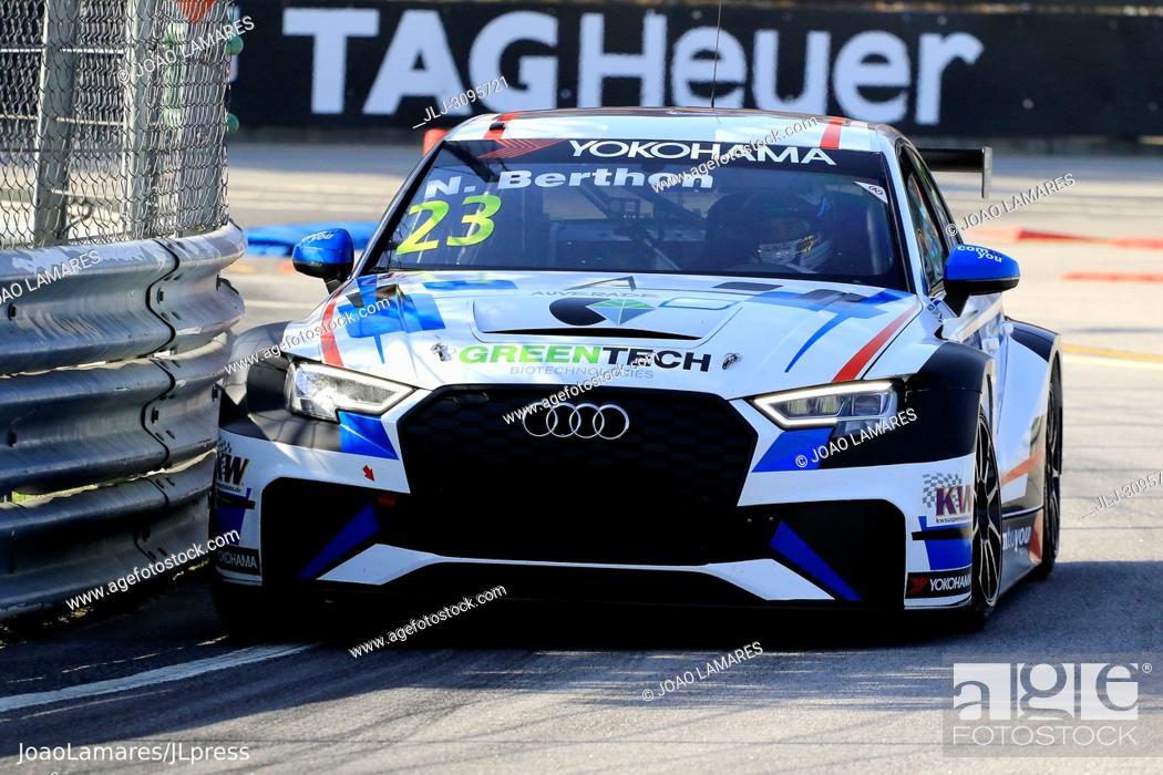 Stock Photo: N. Berthon, Audi RS3 LMS #23, WTCR Race of Portugal 2018, Vila Real.