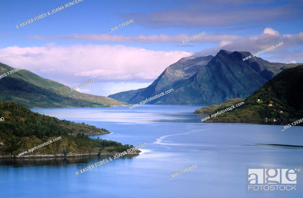 Stock Photo: Saltfjorden, Norway.
