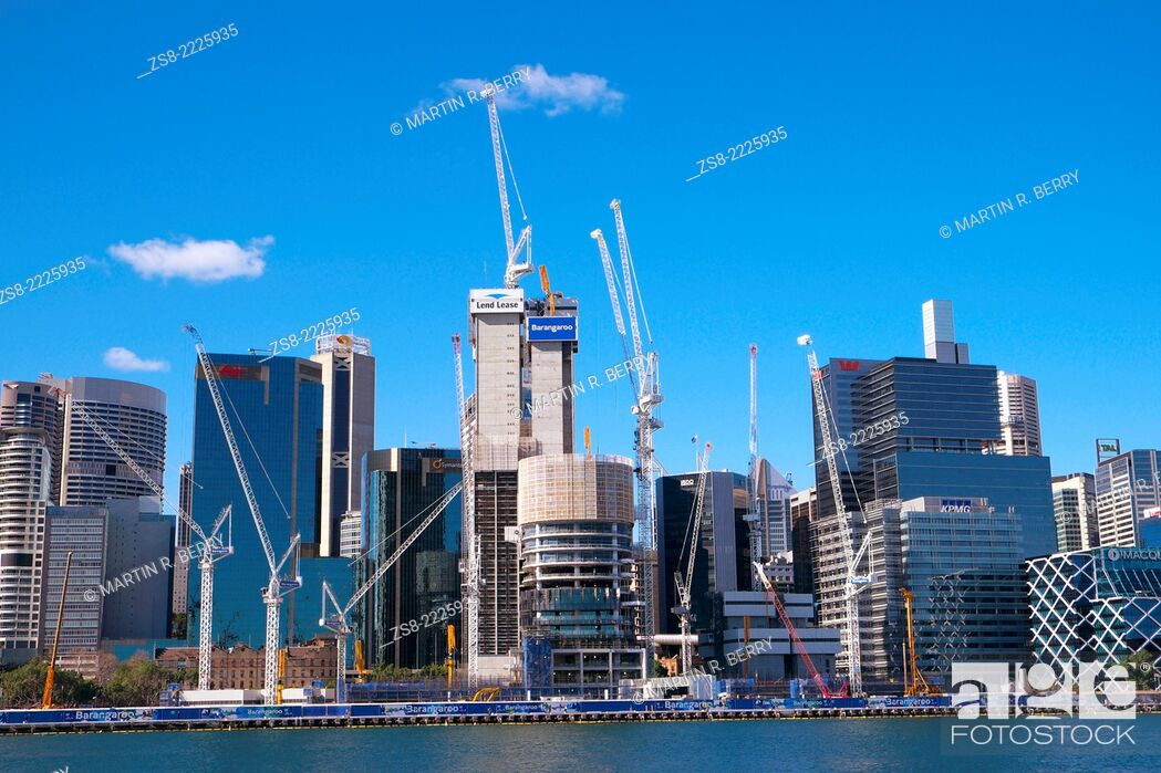 Imagen: Barangaroo headland development at Darling Harbour, Sydney, Australia.