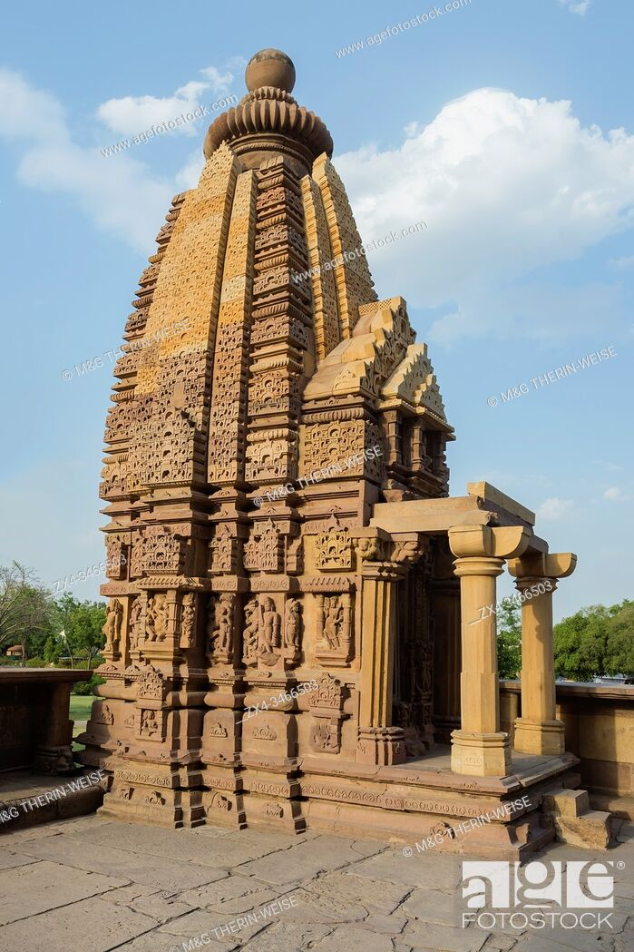 Imagen: Lakshmana Temple, Khajuraho Group of Monuments, Madhya Pradesh state, India.