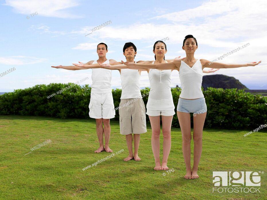 Stock Photo: Yoga.