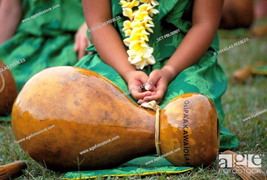 Stock Photo: Hula, Hawaii, USA.
