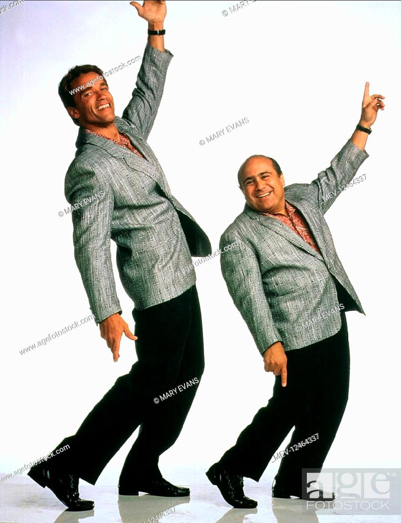 Arnold Schwarzenegger Danny Devito Characters Julius Benedict Stock Photo Picture And Rights Managed Image Pic Mev 12464337 Agefotostock