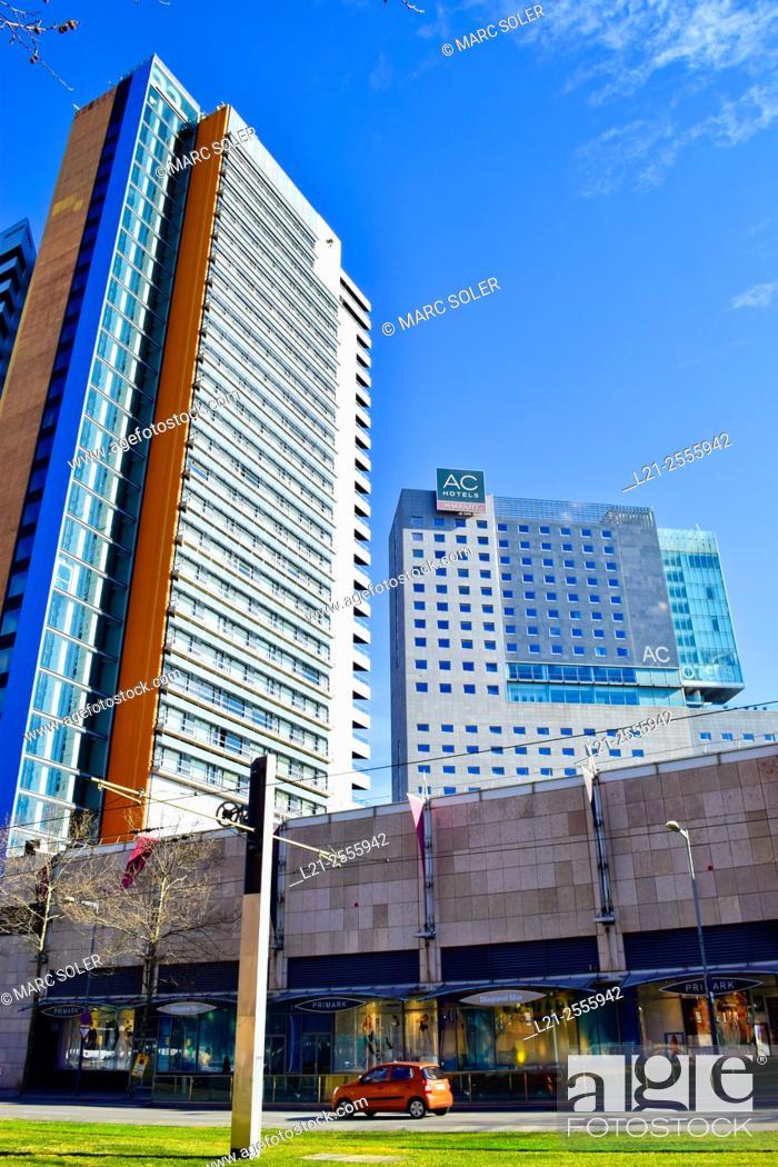 Hotel Barcelona Princess And Ac Hotel Barcelona Forum Diagonal