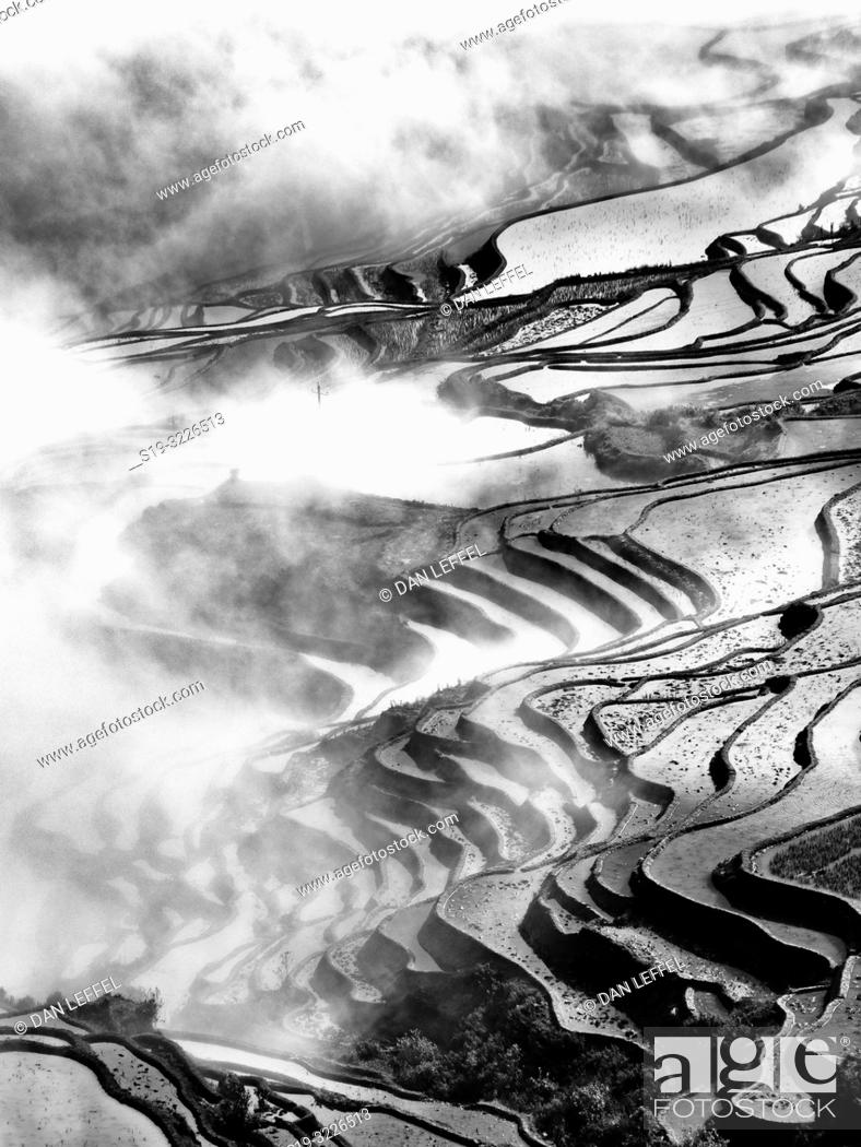 Imagen: China Yuanyang Area.