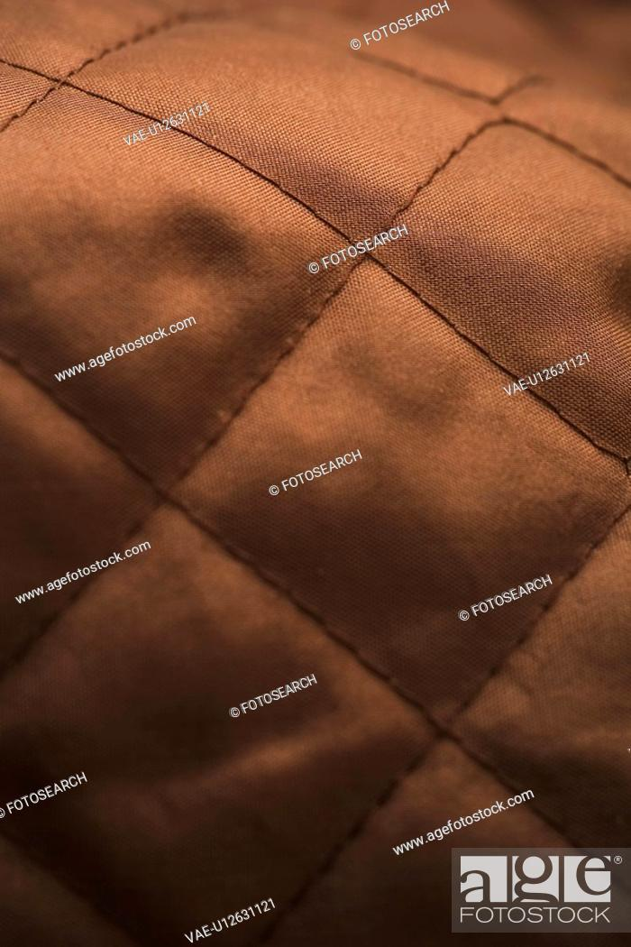 Stock Photo: Brown, Close-Up, Fabric, Full Frame.
