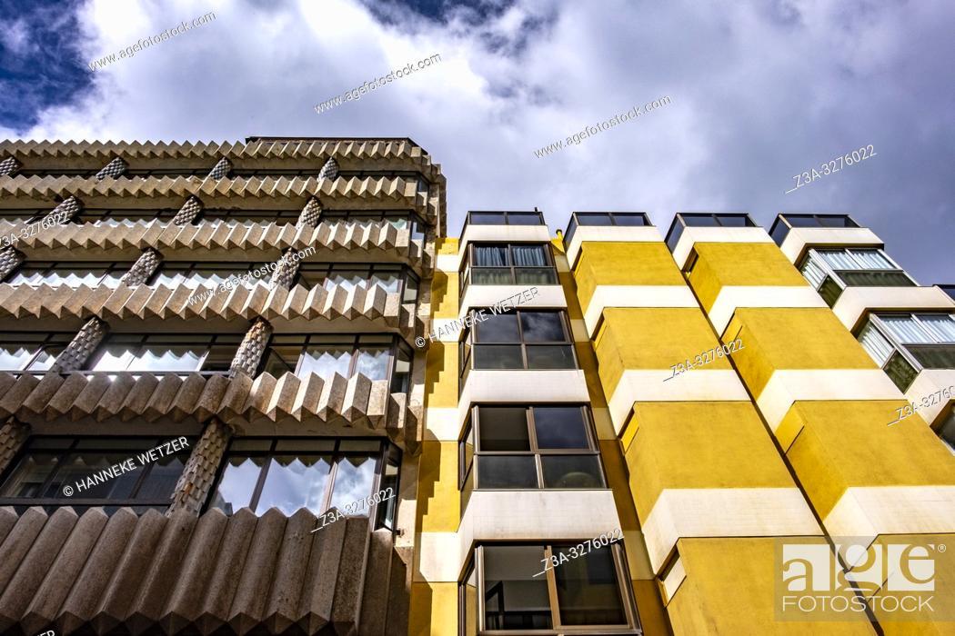 Stock Photo: Modern architecture in Las Palmas de Gran Canaria.