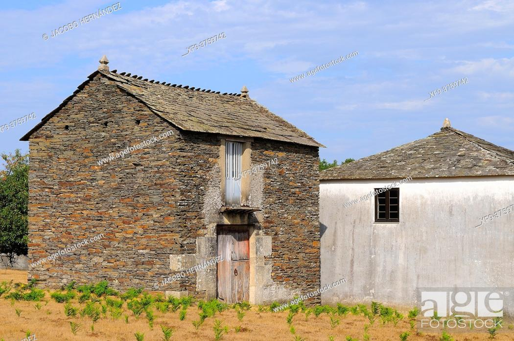 Stock Photo: Traditional architecture. Lugo province. Galicia. Spain.