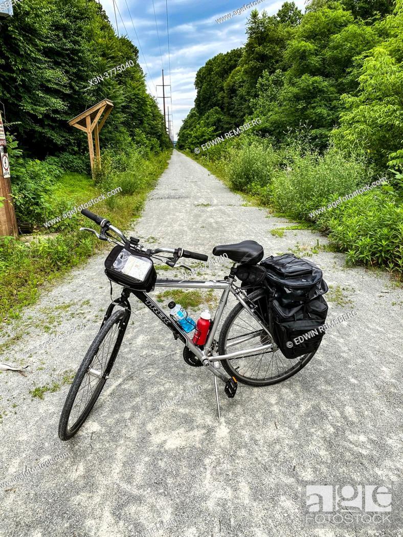 Stock Photo: Enola Low Grade Trail.