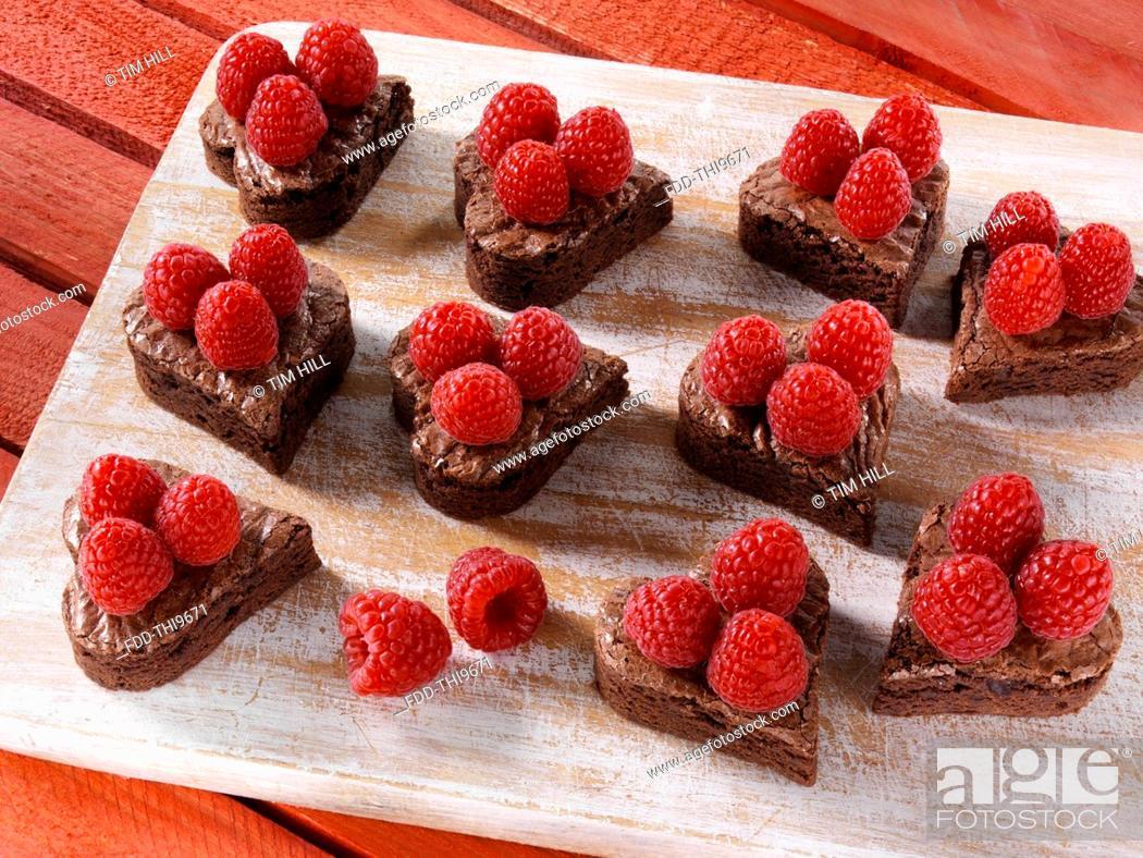Imagen: Valentines Day brownies.