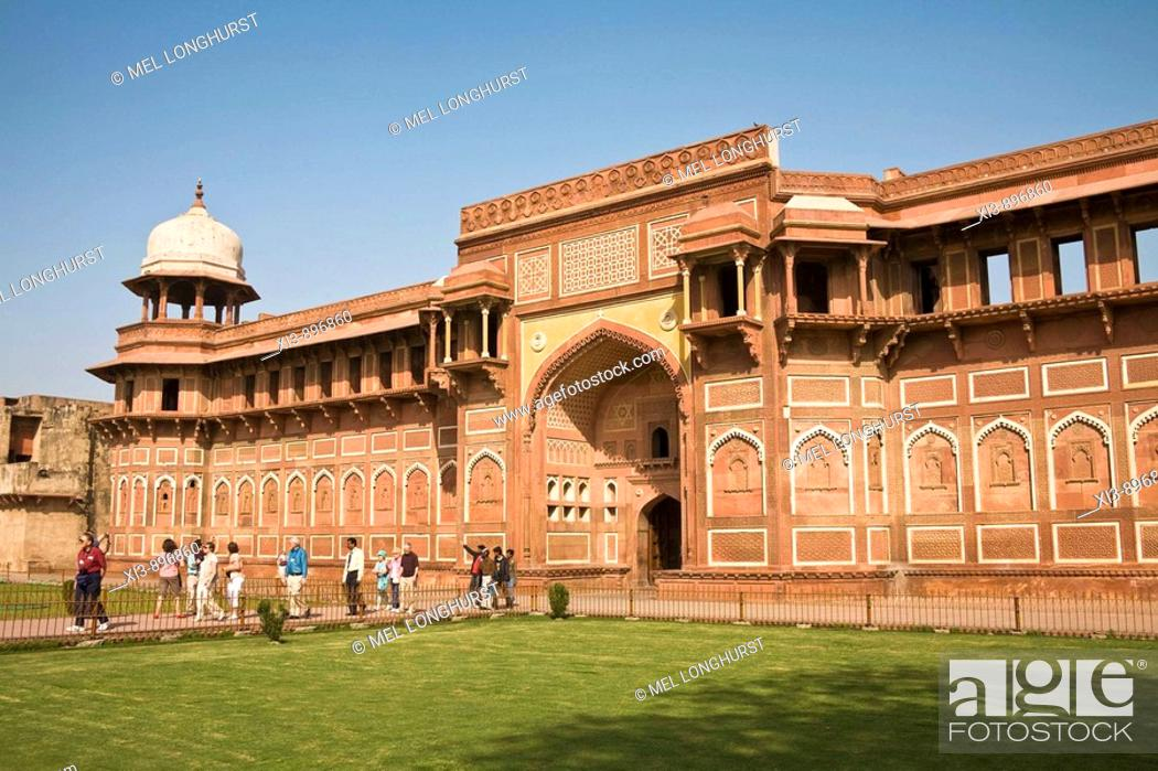 Imagen: Jahangiri Mahal, Agra Fort, also known as Red Fort, Agra, Uttar Pradesh, India.