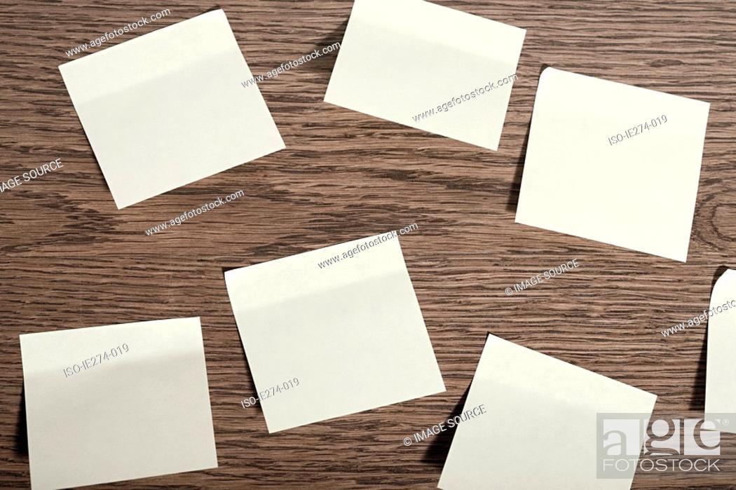 Stock Photo: Adhesive note.