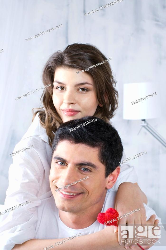 Stock Photo: Couple in love.