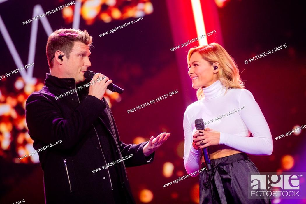 14 December 2019 North Rhine Westphalia Duesseldorf Helene Fischer And Nick Carter Will Perform Stock Photo Picture And Rights Managed Image Pic Pah 191216 99 166121 Dpai Agefotostock