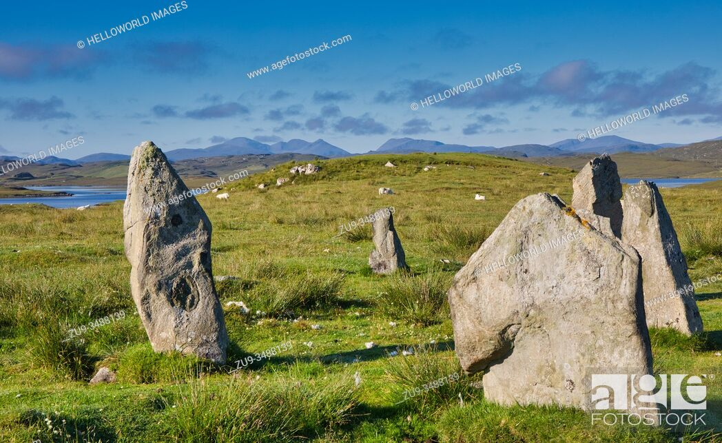 Stock Photo: Callanish Stones, Isle of Lewis, Outer Hebrides.
