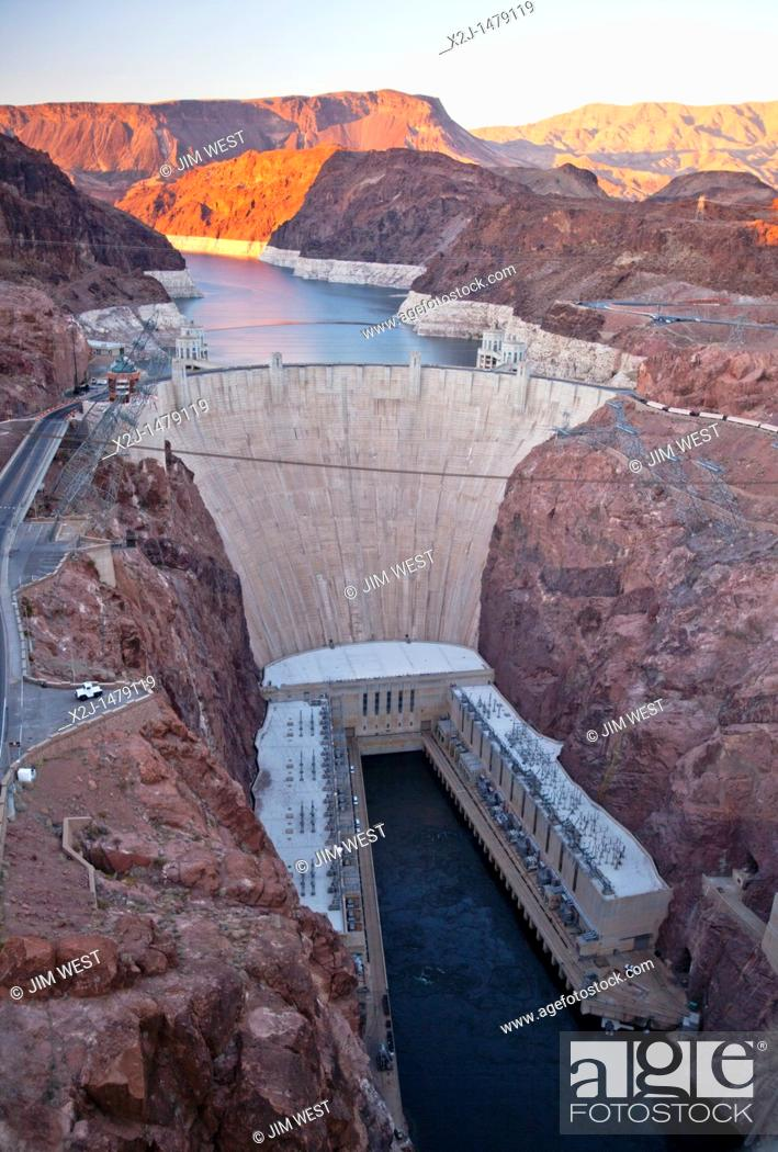Boulder City, Nevada - The Hoover Dam and Lake Mead The