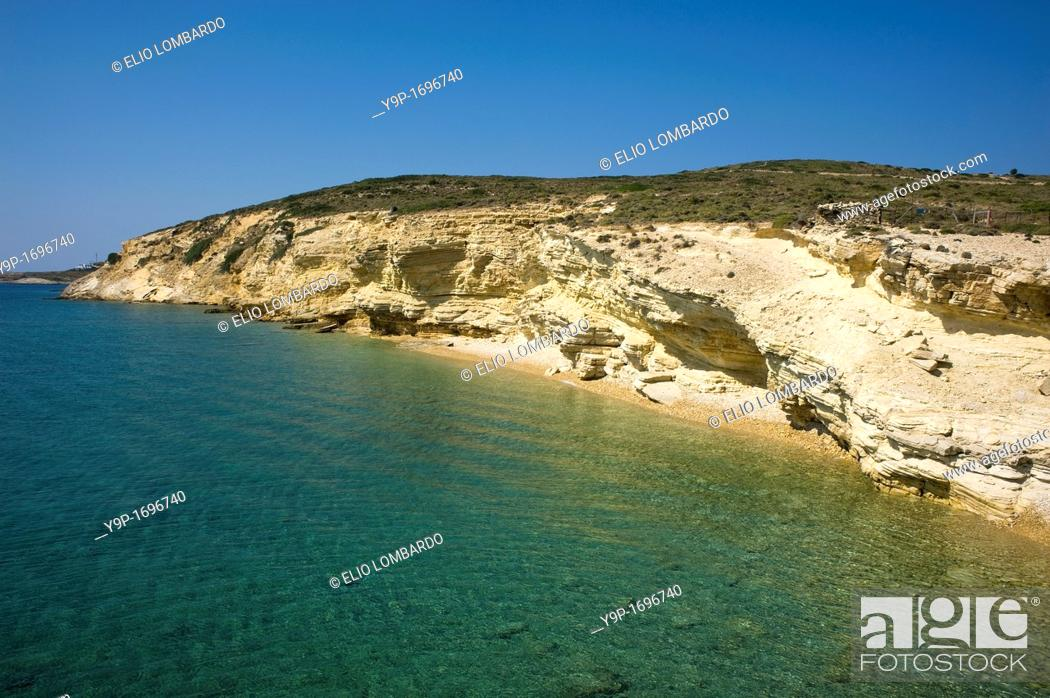 Stock Photo: Monodendri beach, Lipsi Island, Dodecanese, Greece.