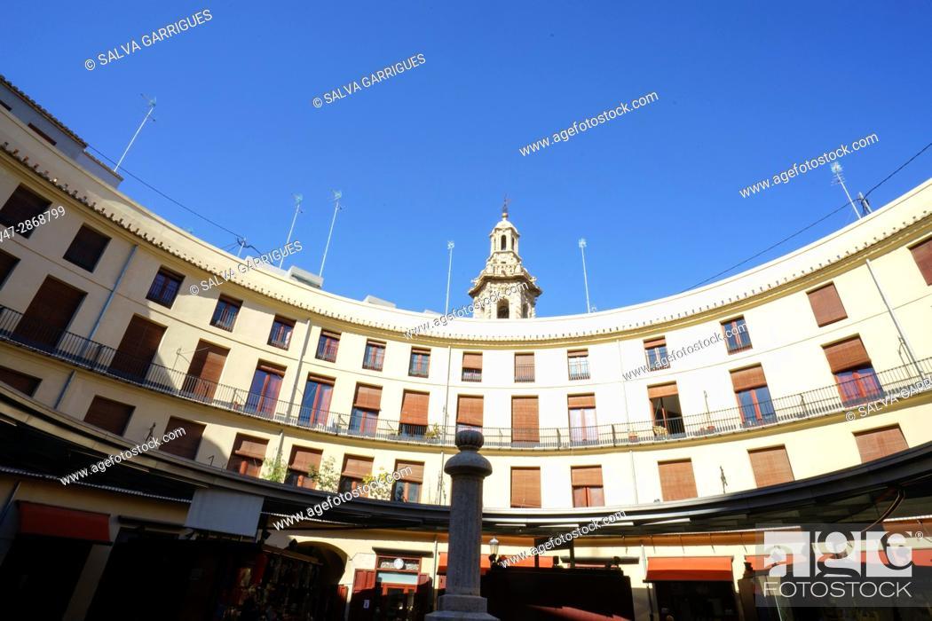 Imagen: Plaza Redonda, Valencia, Spain, Europe.