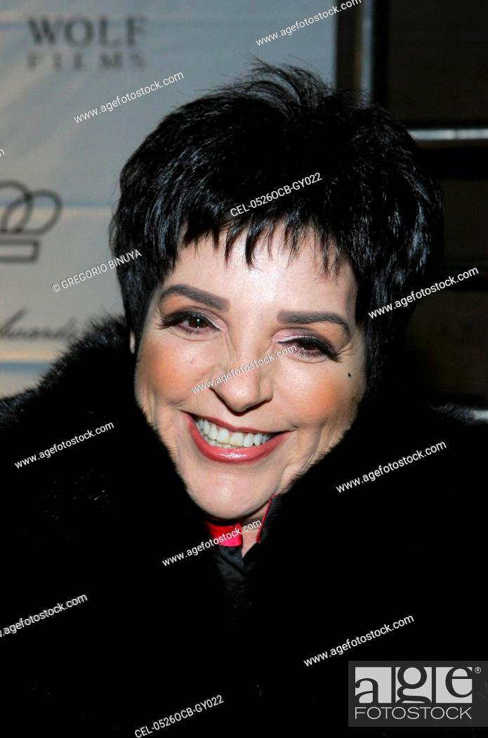 Liza Minnelli at arrivals for Princess Grace Foundation