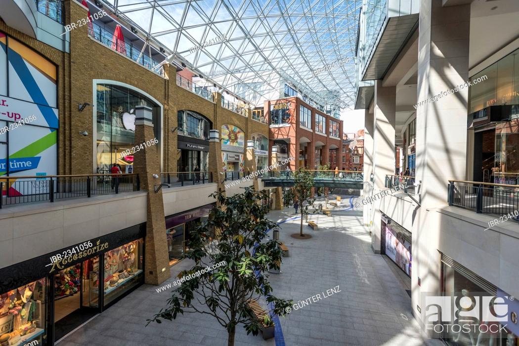 eb719eb0ad59a Stock Photo - Victoria Square Shopping Centre, Belfast, Northern Ireland,  United Kingdom, Europe
